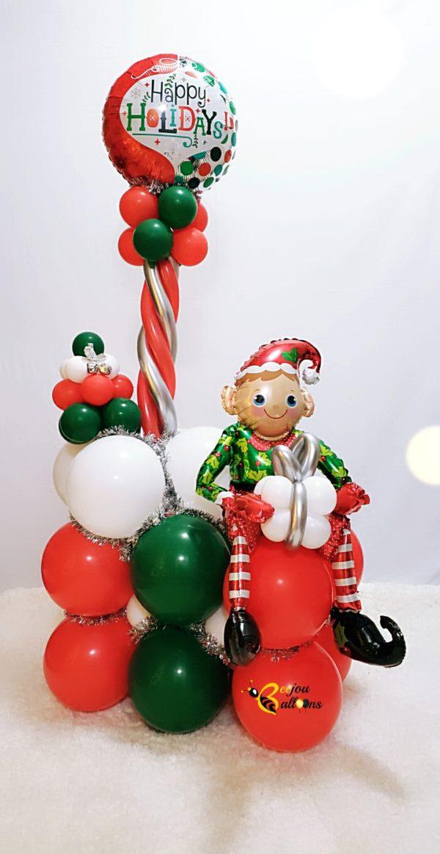 Santa's Helper beejouballoons.com St. Augustine florida