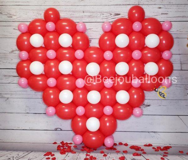 Full Heart beejouballoons.com