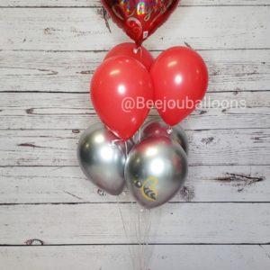 Shinny Valentine's beejouballoons.com