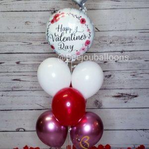 Solid Valentine's beejouballoons.com