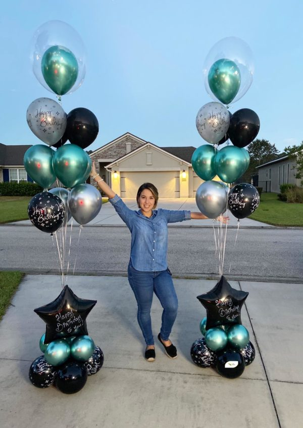 Sparkling Birthday beejouballoons.com Saint Augustine Fl Bouquets Balloons Decorations Party Gifts Surprises
