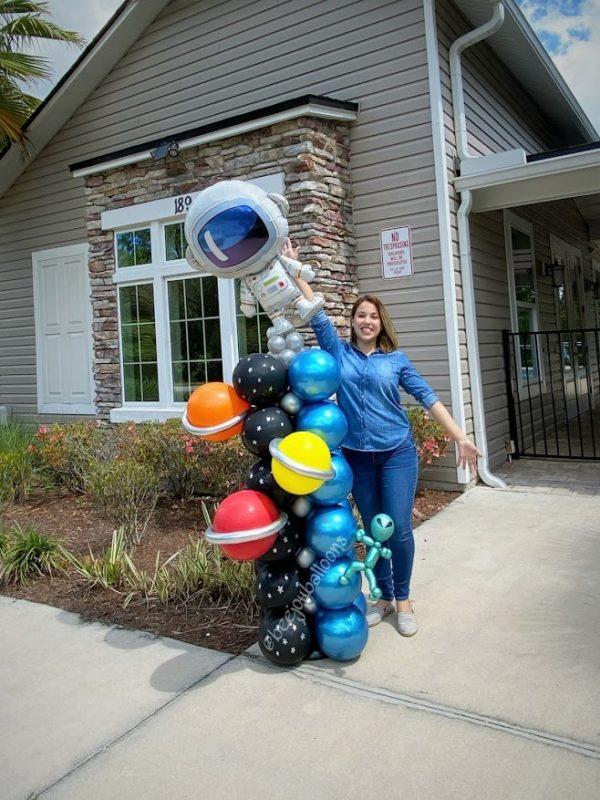Astronaut beejouballoons.com Saint Augustine Fl Bouquets Balloons Decorations Party Gifts Surprises