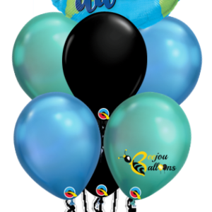 Change The World - Bunch Balloon beejouballoons.com balloons bunches st agustine florida bouquets decor events surprises gifts delivery decorations party