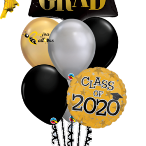 Class of 2020 Balloon Bunch Bunch Balloon beejouballoons.com balloons bunches st agustine florida bouquets decor events surprises gifts delivery decorations party