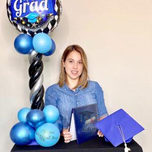 Congrats Grad beejouballoons.com Saint Augustine Fl Bouquets Balloons Decorations Party Gifts Surprises