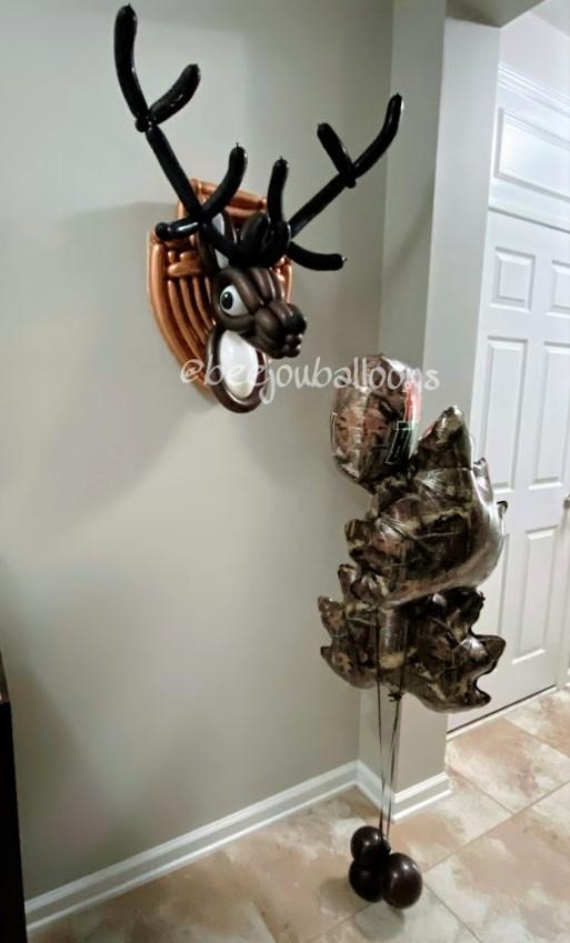Deer Hunterbeejouballoons.com Saint Augustine Fl Bouquets Balloons Decorations Party Gifts Surprises