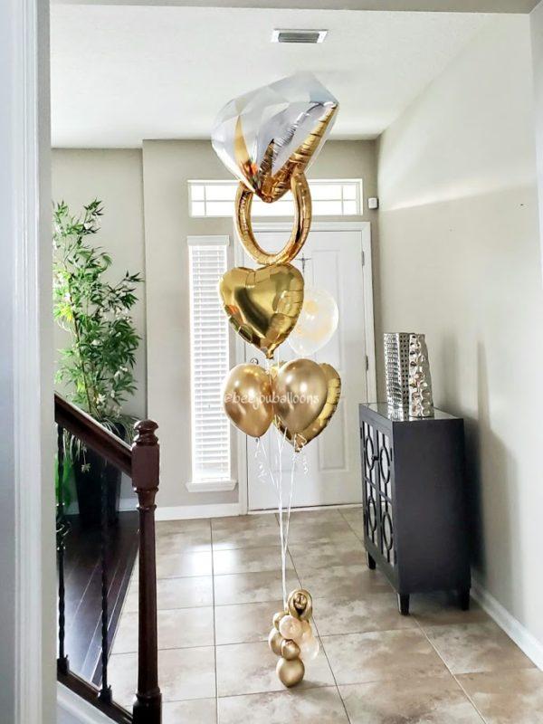 Diamond reflectionbeejouballoons.com Saint Augustine Fl Bouquets Balloons Decorations Party Gifts Surprises