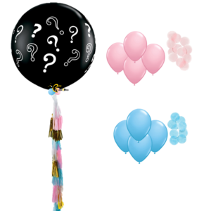 Gender Reveal - Giant beejouballoons.com balloons bunches st agustine florida bouquets decor events surprises gifts delivery decorations party