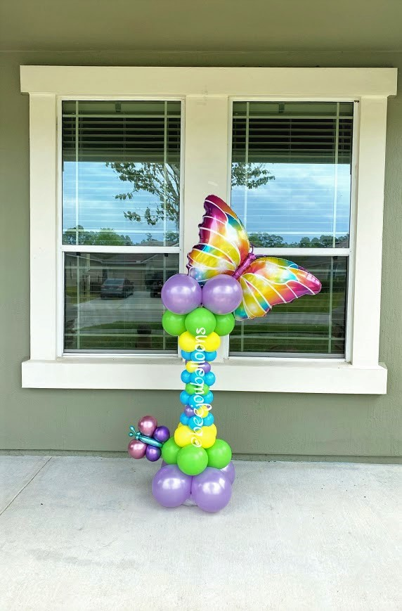 Winging Butterfly beejouballoons.com Saint Augustine Fl Bouquets Balloons Decorations Party Gifts Surprises
