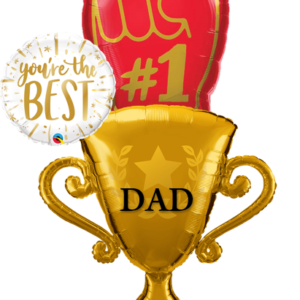beejouballoons.com bouquet balloon fathers day decoration # dad