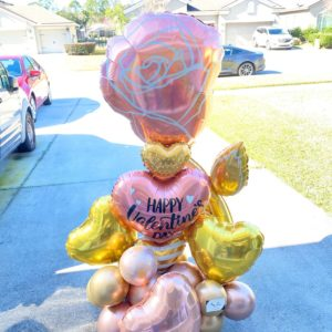 Big Time Valentine - beejouballoons - Balloon Bouquets - Valentines - Balloon Delivery