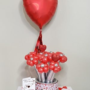 Blooming Bouquet - beejouballoons - Balloon Bouquets - Valentines - Balloon Delivery