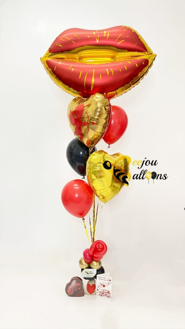 Crazy in Love - beejouballoons - Balloon Bouquets - Valentines - Balloon Delivery