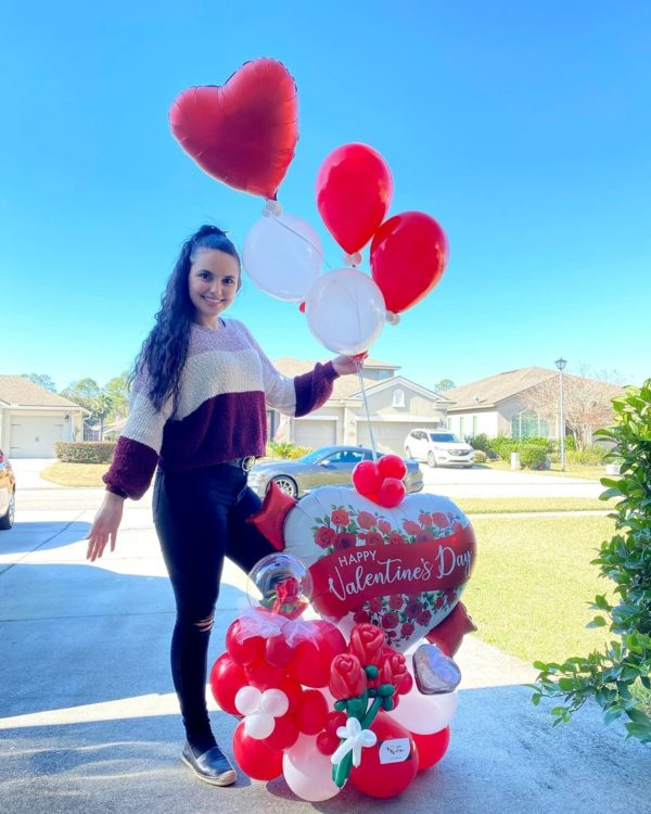 Much Love! - beejouballoons - Balloon Bouquets - Valentines - Balloon Delivery