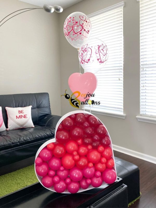 Touch of Elegance - beejouballoons - Balloon Bouquets - Valentines - Balloon Delivery