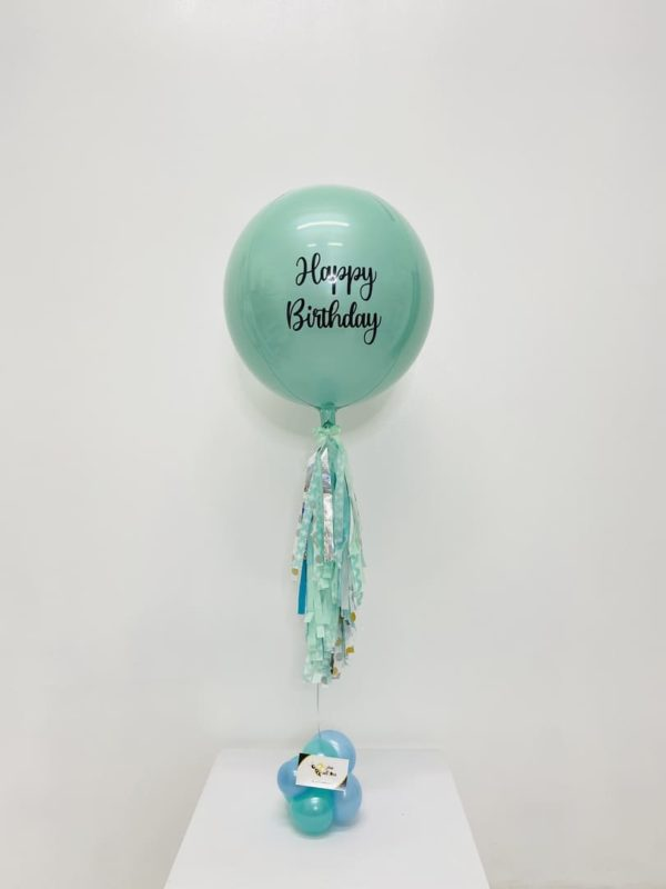 Personalized Orbz Balloon beejouballoons - Balloon Bouquets - Valentines - Balloon Delivery